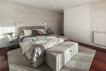 Modern Bedroom Minimal style Interior Design
