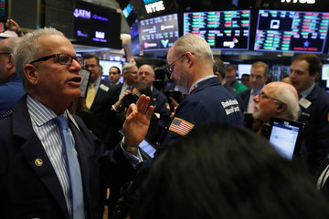 A price update is given on shares of Spotify before the company's direct listing on the floor of the New York Stock Exchange in New York