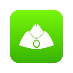 Forage cap icon digital green