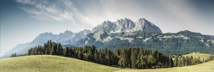 Österreichische Berge - Wilder Kaiser, Tirol, Austria    Wall mural