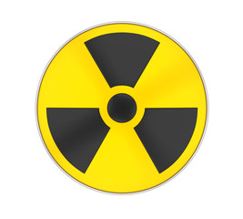 Radioactive Sign Symbol Isolated