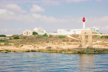 The Mediterranean Sea Tunisia Mahdia. Selective focus.