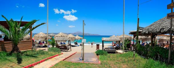 Plage et soleil en Crète
