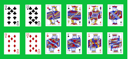 pinochle cards deck