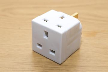 UK Multi plug adapter extension