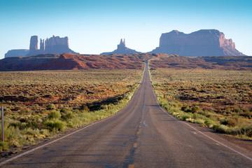 Road Through Monument Valley Arizona