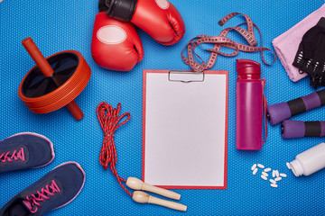 Sport and fitness equipment.
