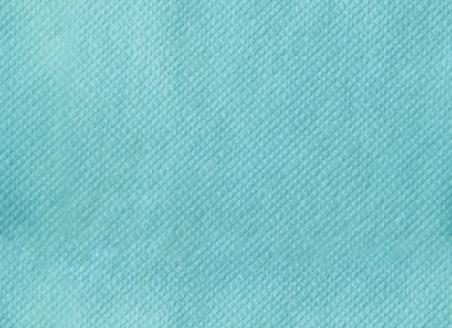 Paper napkin embossing seamless texture. tiffany color background