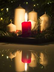 Świąteczny blask lustrzany