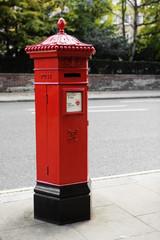 English mailbox.