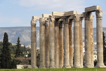 Greek temple Columns travel Greece