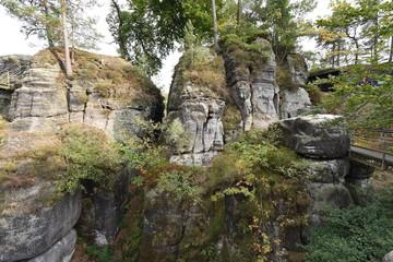 Sächsische Schweiz, Bastei Felsenburg Neurathen
