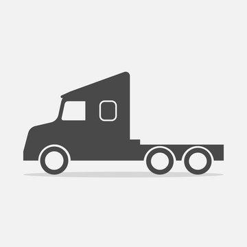 truck vector icon transportation vehicle