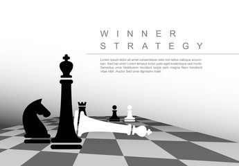 Chess Infographic Layout