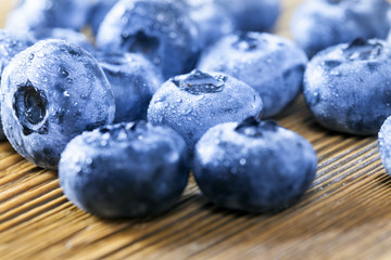 blueberry close up