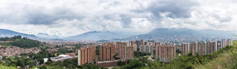 Panorama de Medellin, Colombie