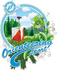 Orienteering clipart