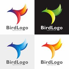 Bird Logo Vector Set