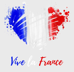 Vive la France background