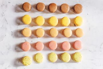 Frische Frazösische Macarons