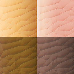 Human type of skin texture design background vector illustration.