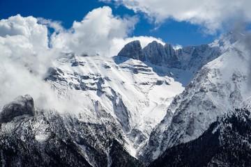 Mount Olympus West Face