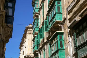 Mediterranean style street in Malta