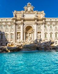 Fond de hotte en verre imprimé Rome Rome, Trevi Fountain. Italy.