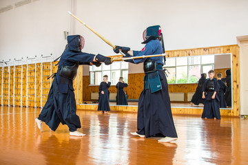 fight with the Kendo Sword School