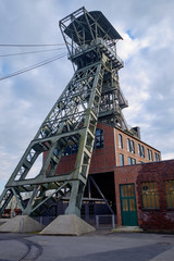 Förderturm der Zeche Zollern in Dortmund