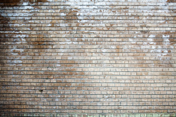 light brown brick wall, smooth masonry, texture, background