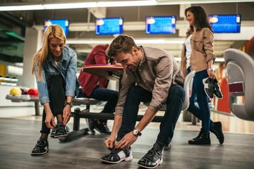 They always enjoy bowling