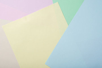 Beautiful background for business and study from paper of different colors