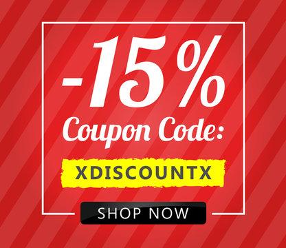 15 Coupon Code Shop