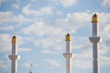 Minarets from a mosque