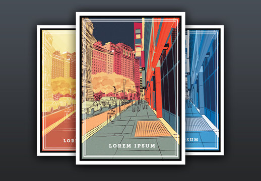 City Sights Flyer Set