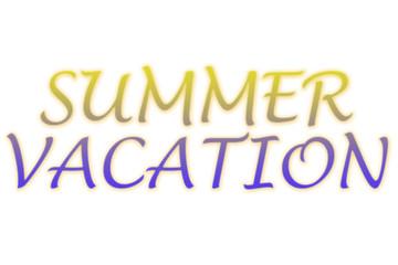 Vacaciones de verano titulo.