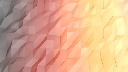 Lowpoly Backdrop with Triangular Forms