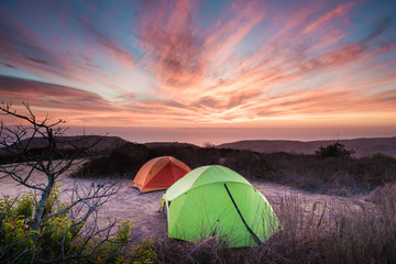 Camping with Stunning View at Crystal Cove