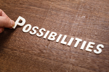 Possibilities Word