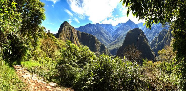 On the way to Machu Picchu, Peru