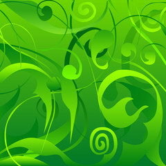 Abstract Jungle Texture Background