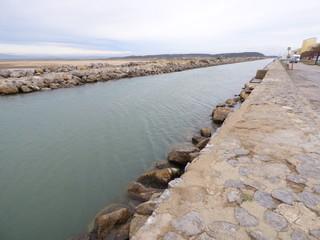 Gruissan,localidad y comuna francesa, situada en el departamento del Aude en la región de Languedoc-Rosellón