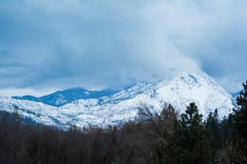 Leavenworth Washington blue Mountain Peaks