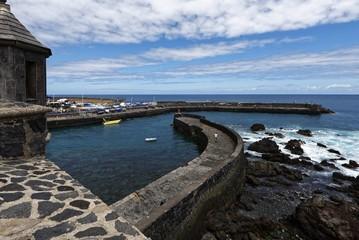 Photo Blinds Port Puerto de la Cruz - Hafenmole