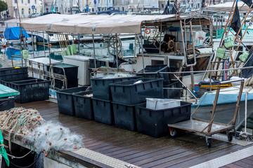 fishing boats and equipment