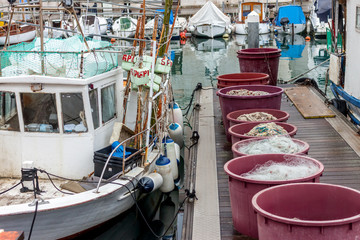 fishing boats and equipment