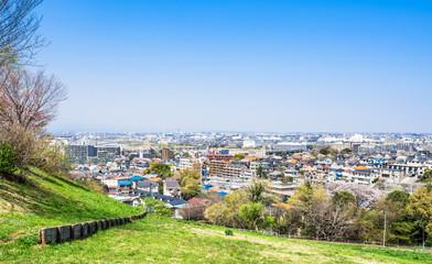 東京郊外の住宅街
