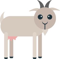 Rounded Goat