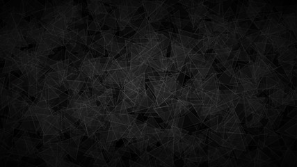 Abstract background of translucent triangles